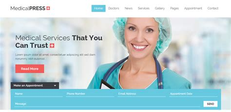 theme wordpress free health 30 best medical wordpress themes for doctors wpexplorer