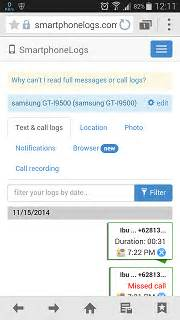 smartphonelogs apk full version gratis aplikasi sadap smsteleponbrowserchat bbmwafb