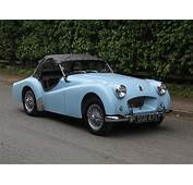 SOLD  1954 Triumph TR2 Long Door