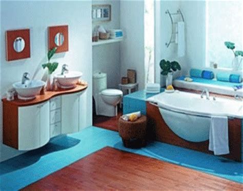 Blue Brown And White Bathroom Ideas by Bathroom Decorating In Blue Brown Colors Chocolate