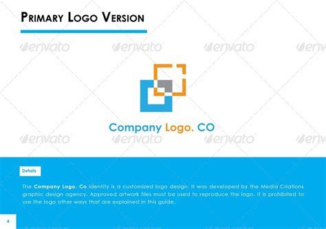 corporate identity manual template 15 premium miscellaneous print templates