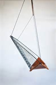 comfortable and elegance hanging chair designed by les