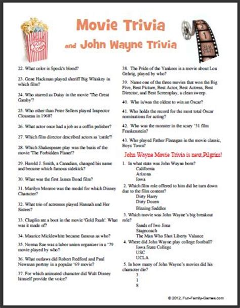 film quiz questions 2014 2014 trivia questions and answers autos post
