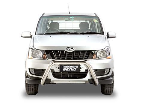 lada genio 2018 mahindra genio dual cab variant front indian autos