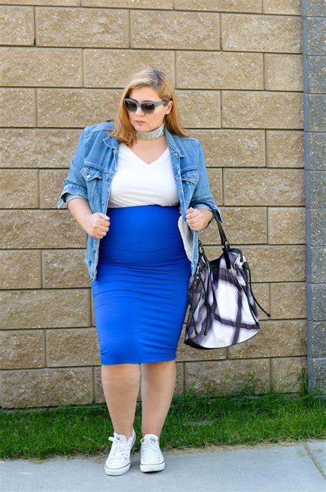 90s White 90s inspired white sneakers blue skirt jean