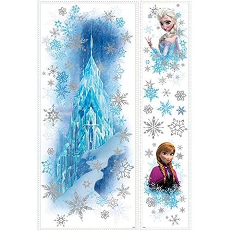 frozen removable wallpaper frozen wall decals au zooyoo frozen princess childhood
