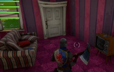 fortnite bedroom fortnite battle royale tv room orcz the