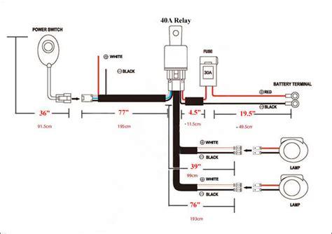 Universal Wiring Harness for LED Off Road light bar, Automo Lighting LED Warning Light Bars