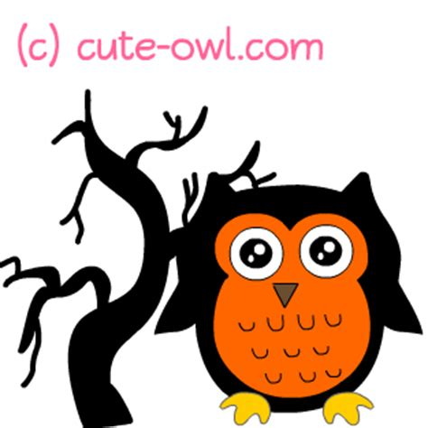 printable scary owl halloween tree clipart clipart panda free clipart images