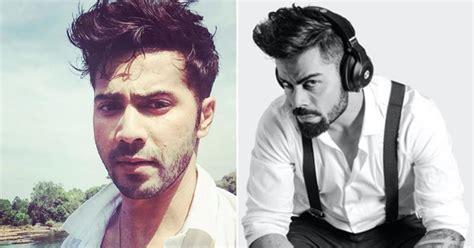 style lessons from virat kohli mensxpcom varun dhawan copying virat kohlis hairstyle