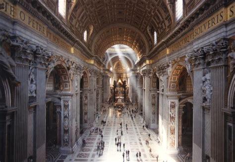 basilica san pietro interno che cosa vedere nella basilica di san pietro in vaticano