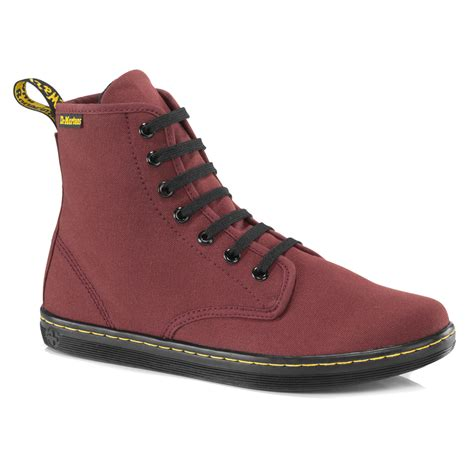 7 Boots For Your by Lyst Dr Martens Shoreditch Canvas 7 Eye Boot In Black