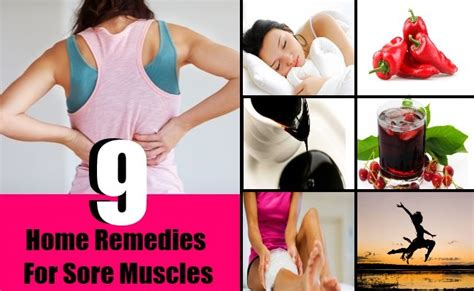 9 useful home remedies for sore muscles diy home
