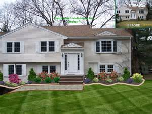 landscaping front yard landscaping ideas for a raised ranch
