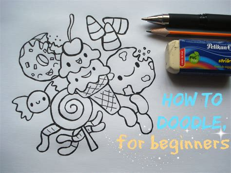 how to draw doodle for beginner steps on doodling for beginners