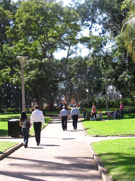 Walking In The file walking in hyde park sydney jpg wikimedia