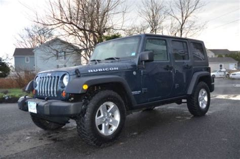 Used Jeeps Ct Buy Used 2007 Jeep Rubicon Wrangler Unlimited Dual Top In