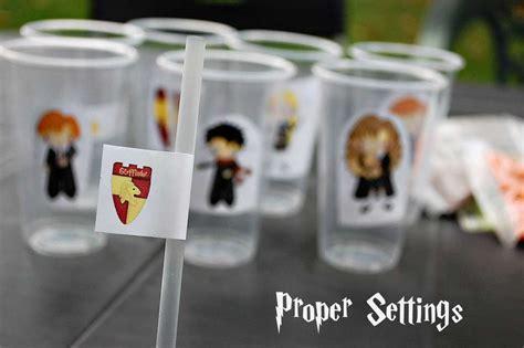 Harry Potter Themed Boys Birthday Party Birthday Party