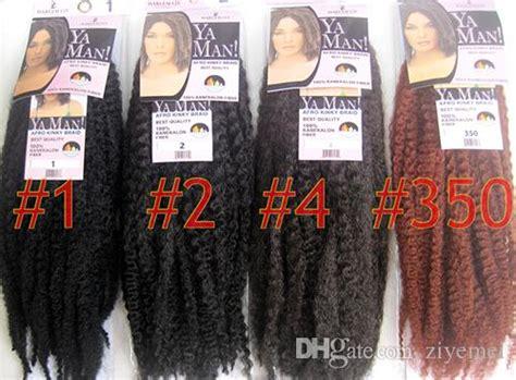 how to curl ya man marley hair yaman afro kinky twist braids 18 longth 100 kanekalon