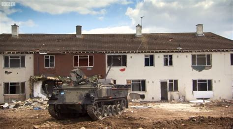 demolishing a house how not to demolish a house with army vehicles top gear style care of cars