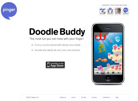 doodle buddy free a collection of attractive websites for applications