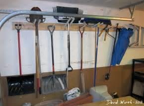 Garage Storage Hanging Racks Garage Tool Rack