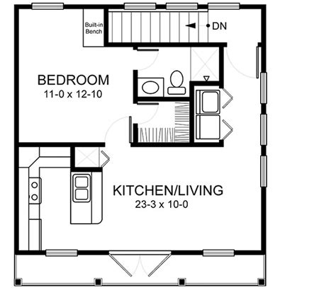 apartments above garage floor plans home plans homepw03152 520 square feet 1 bedroom 1
