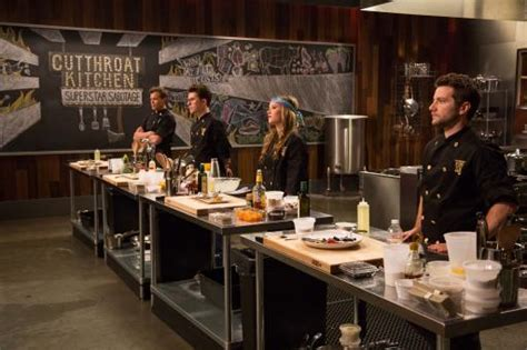 Cutthroat Kitchen Contestants List by Sixteen Culinary All Compete In Cutthroat Kitchen Superstar Sabotage Tournament