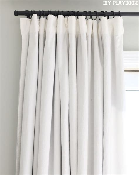black linen drapes shop the look casey s master bedroom diy playbook