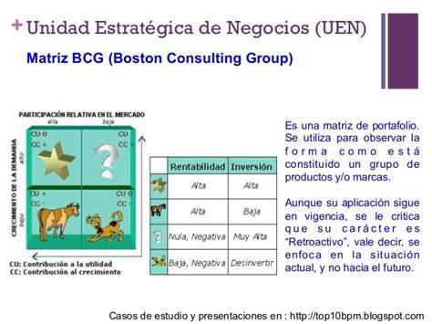 matriz boston consulting group de estrategia y postura competitiva marketing matriz bcg