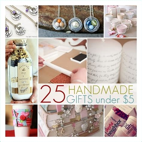 Small Handmade Gift Ideas - 25 handmade gifts 5