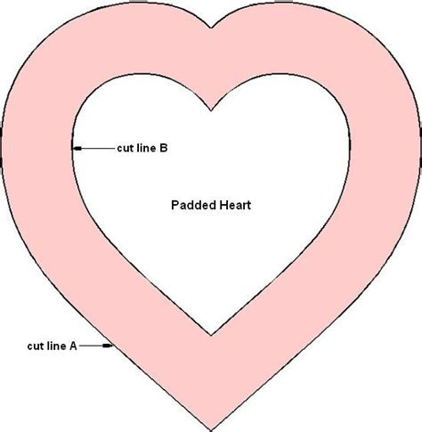 printable heart decorations best 25 printable heart template ideas on pinterest
