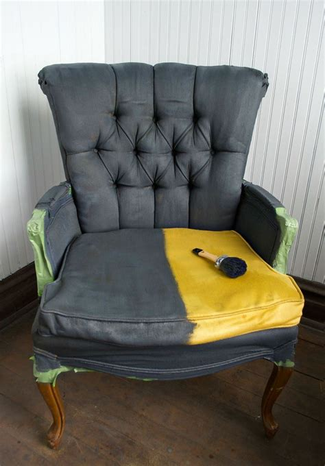 Painting Upholstery by 1000 Ideas About Painted Fabric Chairs On