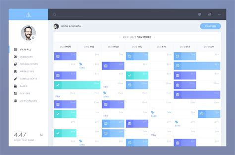 design calendar ux tancy calendar dashboard page designs pinterest ui