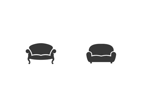 logo sofa couch logos which one by jord riekwel dribbble