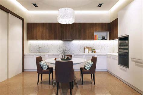 Charmant Coin Repas Petite Cuisine #4: cuisine-separee-salle-a-manger-appartement.jpg