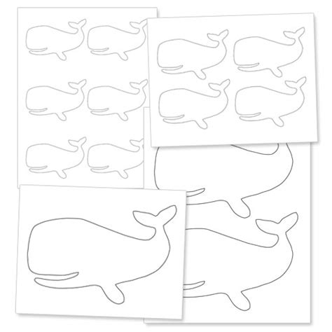 whale template preschool whale writing templates images