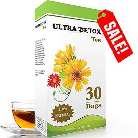 Ultra Detox Tea by Fast Healthy Smoothies Ultra Detox 1 Weight Loss Tea