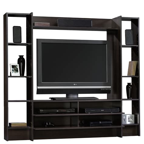 beginnings entertainment wall system 413044 sauder