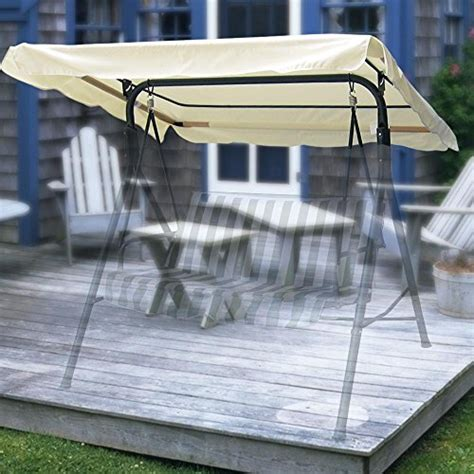 replacement swings for swing sets yescom 76 37 quot x44 quot outdoor swing cover replacement canopy