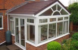 wintergarten dach new supalite lightweight tiled conservatory roof from