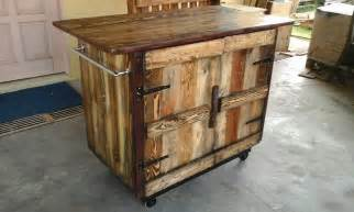 wooden kitchen island table wooden pallet kitchen island table 101 pallets
