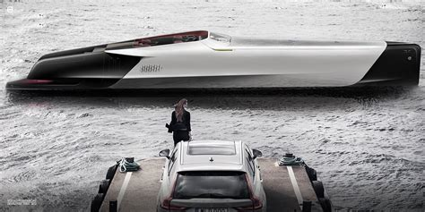 volvo ulla power boat vovlo cars collaboration  volvo penta leads   birth
