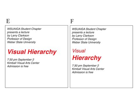 typography visual hierarchy visual hierarchy