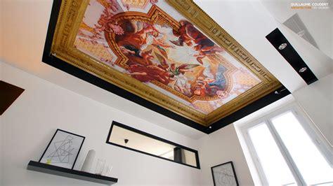 Fresque Plafond by Guillaume Coudert Architecture D Int 233 Rieur Architecture