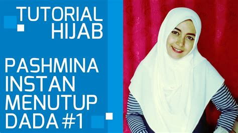 tutorial pashmina ima simple hijab tutorial pashmina simple instant covering chest 1