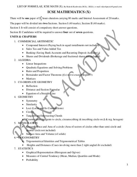 dosage form design question paper design of the question paper mathematics class x not to be