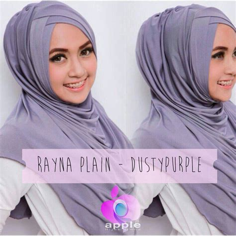 Jilbab Instant Rayna Plain Rayna Syria Rayna Murah 1 instan by apple top tips