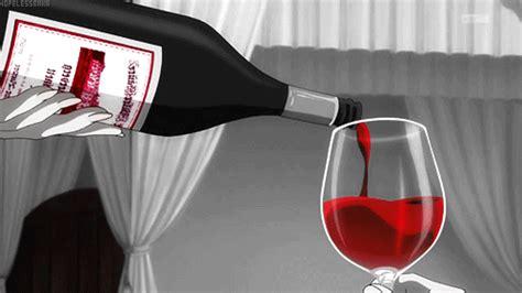 6 Anime Wine by Pour Me A Glass Wine Anime Food Food