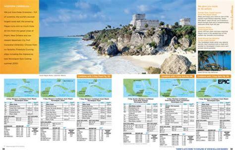 norwegian cruise brochure ncl portfolio page